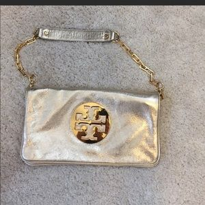 **Authentic** Tory Burch gold purse